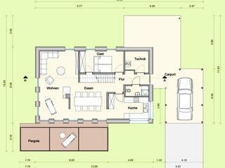Haus KB von Weizenegger Grundriss 1
