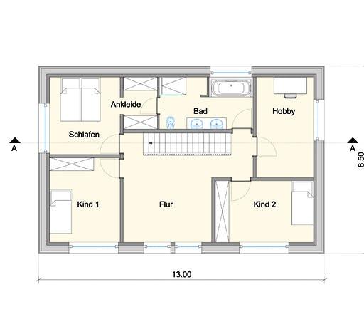 Weizenegger - Haus KB Floorplan 2