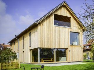 Zweifamilienhaus KW von Weizenegger Außenansicht 1