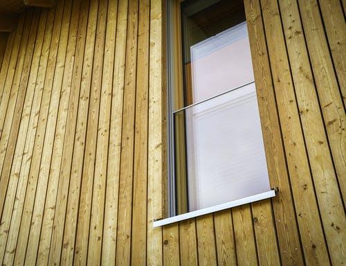 Holzfassade Holzbretter