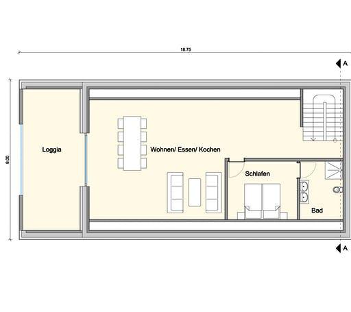Weizenegger - Zweifamilienhaus KW Floorplan 3