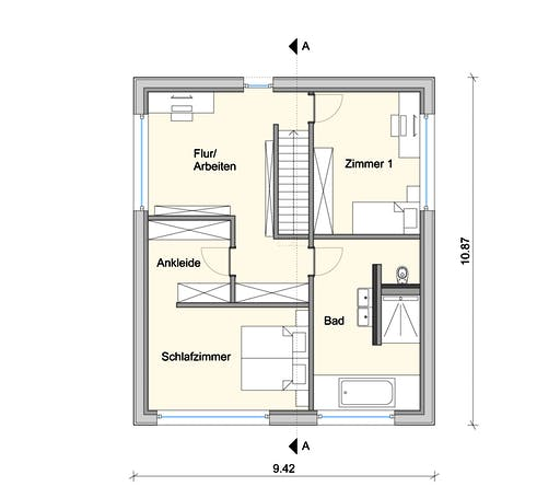 Weizenegger - Haus LB Floorplan 2