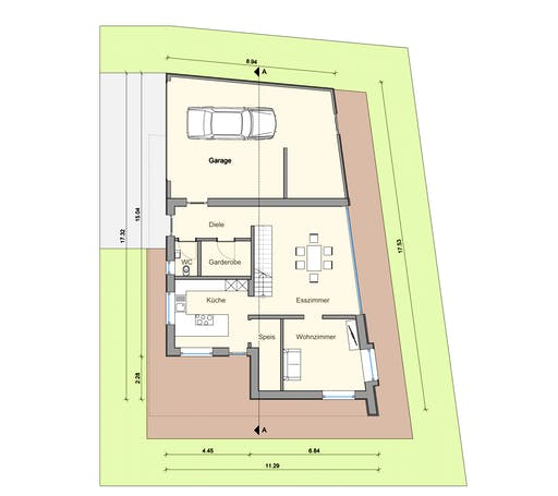 Weizenegger - Haus MT Floorplan 1