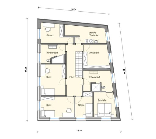 Weizenegger - Haus MT Floorplan 2
