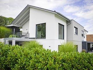 Zweifamilienhaus RG von Weizenegger Außenansicht 1