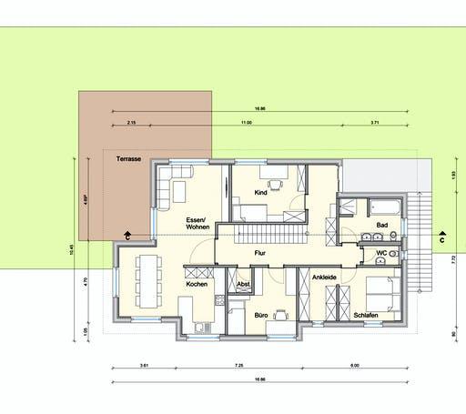 Weizenegger - Zweifamilienhaus RG Floorplan 2
