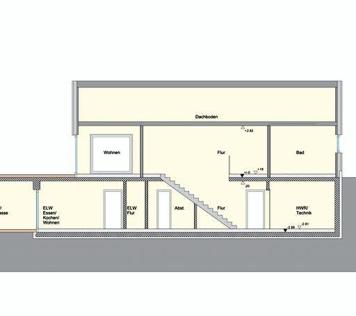 Weizenegger - Zweifamilienhaus RG Floorplan 3