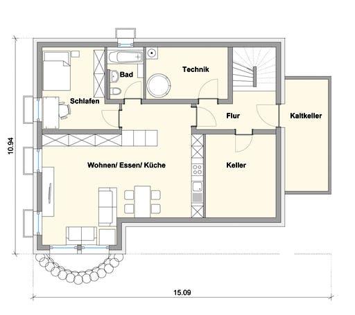 Weizenegger - Haus SB Floorplan 3