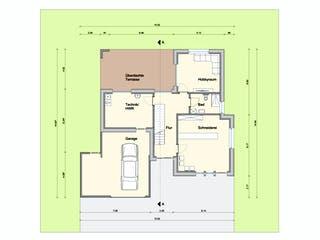Haus mit Gewerbe WPBW von Weizenegger Grundriss 1