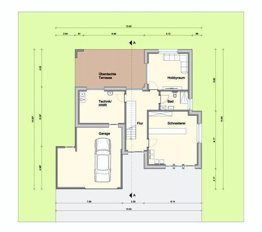 Weizenegger - Haus WPBW Floorplan 1