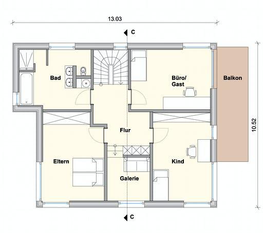 Weizenegger - Haus WW Floorplan 2