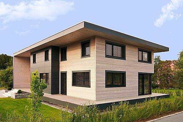 Modernes Flachdachhaus von Weizenegger