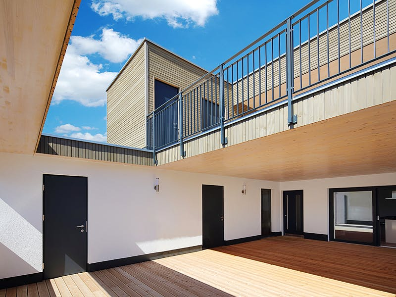 Haus mit Terrasse von Weizenegger