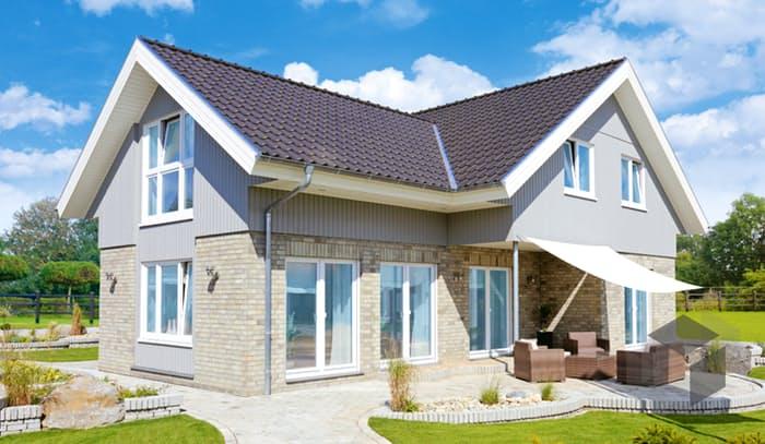 Fertighaus landhausstil  Westerland (Winkelhaus im Landhausstil) von Danhaus | komplette ...