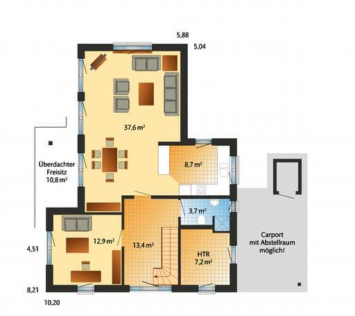 Westerland Floorplan 01