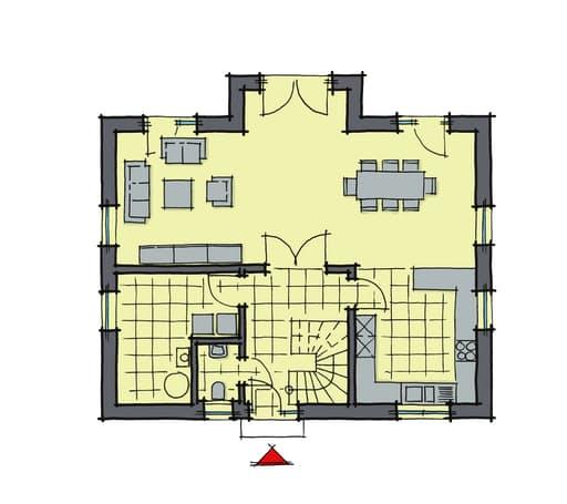 Birkenallee WhiteLine Floorplan 1