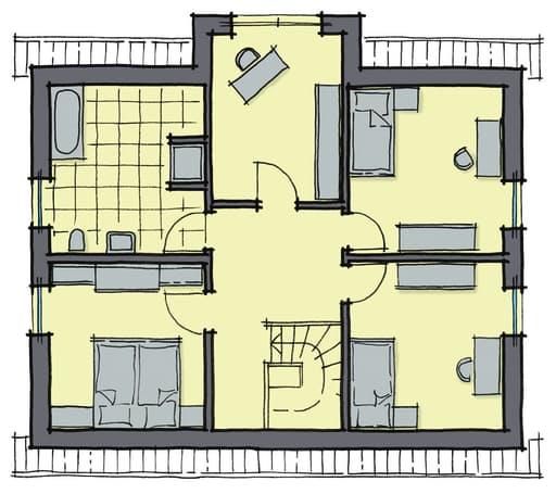 Birkenallee WhiteLine Floorplan 2