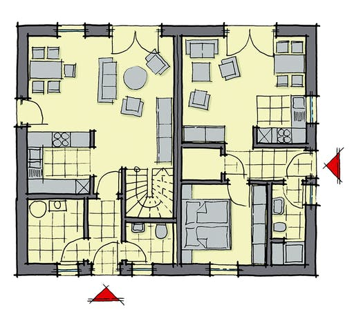 Valencia WhiteLine Floorplan 1