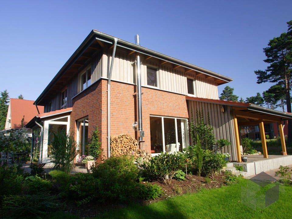 Wieke (KfW-Effizienzhaus 40) von Dammann-Haus Außenansicht