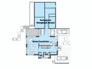 Wiesenhütter - Kundenhaus von Baufritz Grundriss 1
