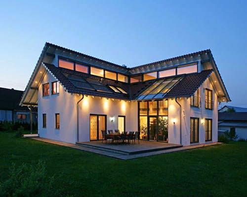 Fertighaus Pultdach häuser mit pultdach | fertighaus.de