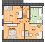 Wintergartenhaus 118 Grundriss