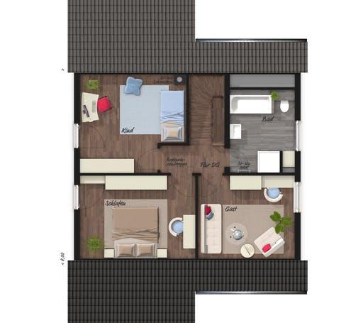 Wintergartenhaus 119 Elegance Floorplan 2