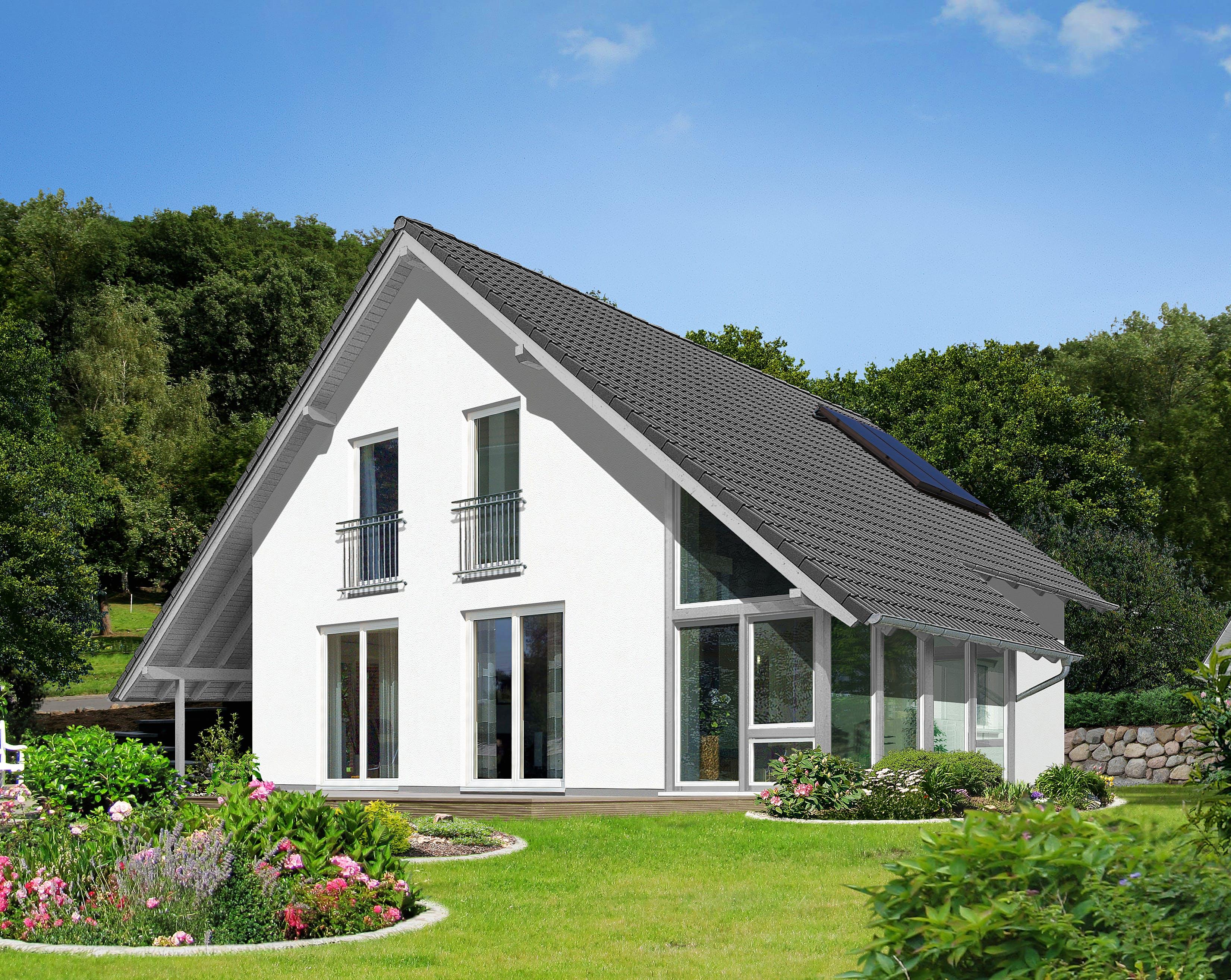 Fertighaus stadtvilla preise  Schlüsselfertiges Fertighaus bis 150.000€ - Häuser | Preise | Anbieter