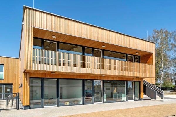Modernes Holzhaus von Winterhoff