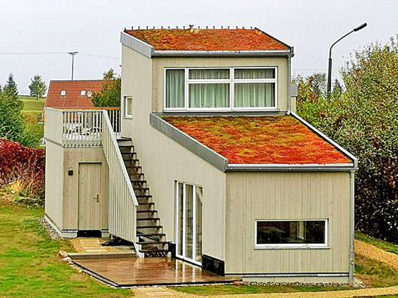 Kleines Holzhaus von der Zimmerei Witt