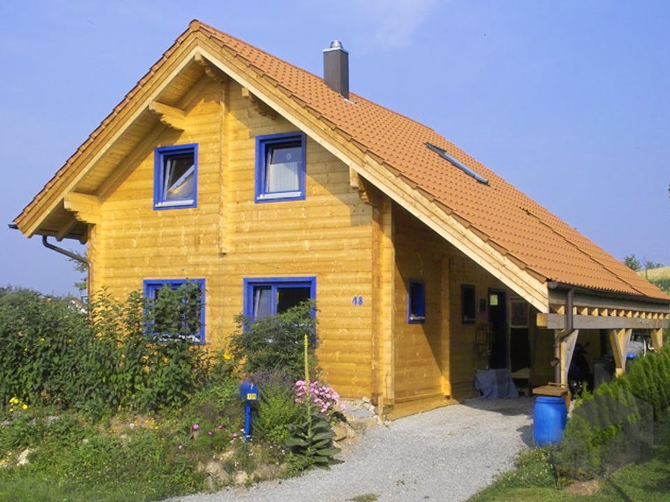 Wolfenbrück von Rems-Murr-Holzhaus Außenansicht