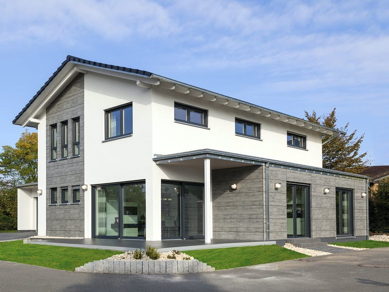 Modernes Satteldachhaus von Wolf-Haus