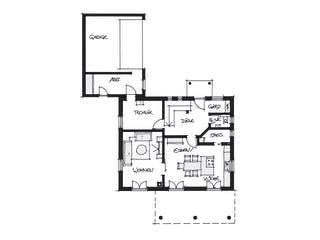 Kundenhaus Ortenburg von Wolf System Grundriss 1