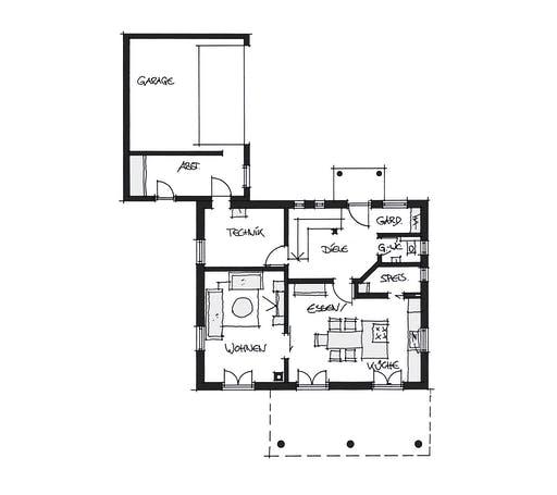 Wolfsystem Kundenhaus Ortenburg Floorplan 1