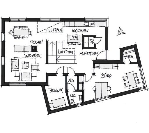 Wolfsystem Musterhaus Poing Floorplan 1