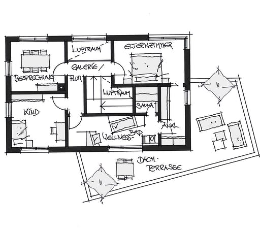 Wolfsystem Musterhaus Poing Floorplan 2