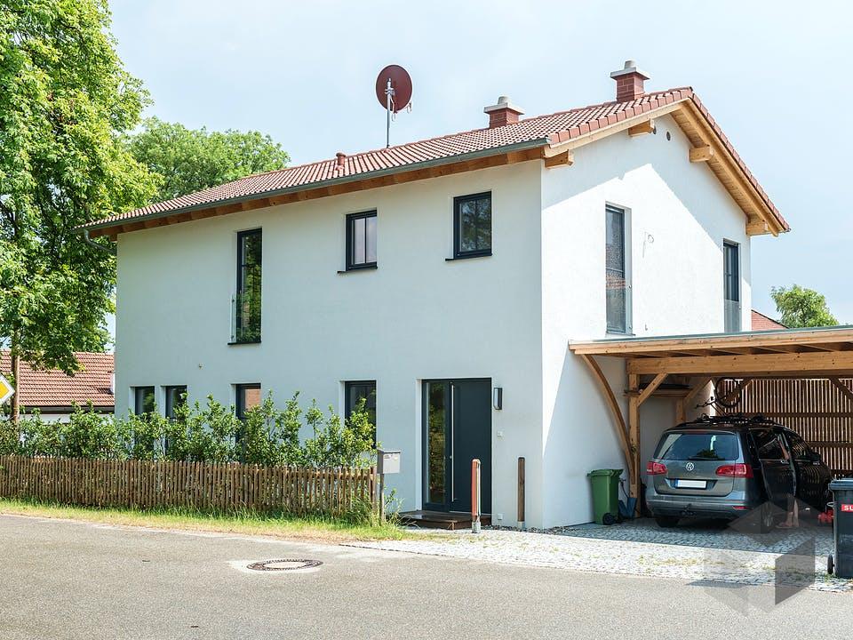 Kundenhaus Straßlach von Wolf System Außenansicht
