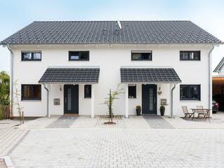 Doppelhaus Fürstenfeldbruck von Wolf System Außenansicht 1