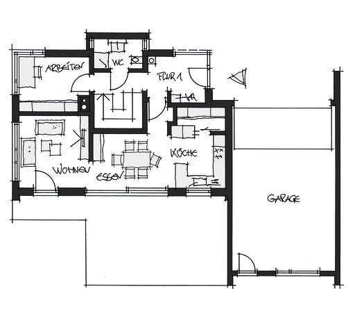 Wolfsystem Kundenhaus Schwabmünchen Floorplan 1