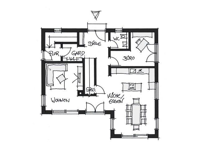 Wolfsystem Kundenhaus Ansbach Floorplan 1