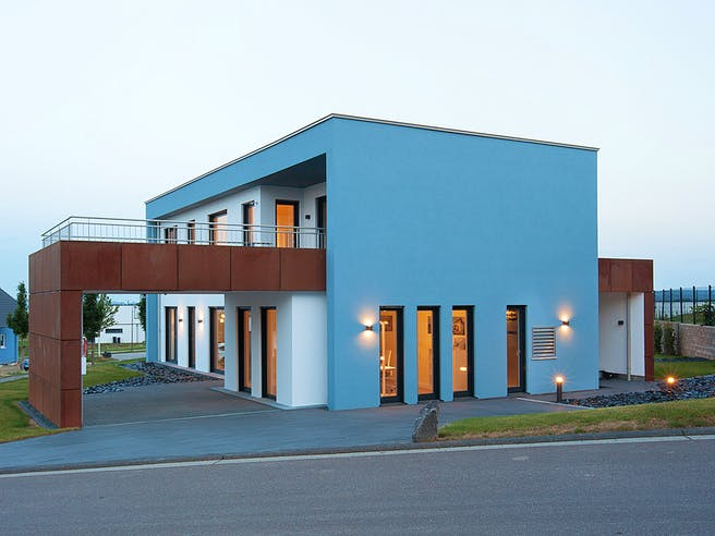 Wolfsystem Musterhaus Wincheringen Exterior 1