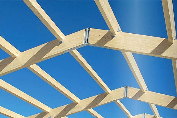 Dachkonstruktion von Wolf System