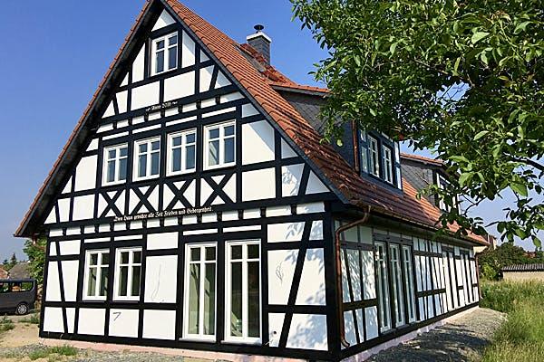 Klassisches Fachwerkhaus von Wolkensteiner Fachwerk