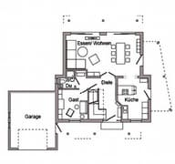 E 15-146.3 - Young Family Home Grundriss