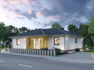 Bungalow BGL 120 von Ytong Bausatzhaus Außenansicht 1