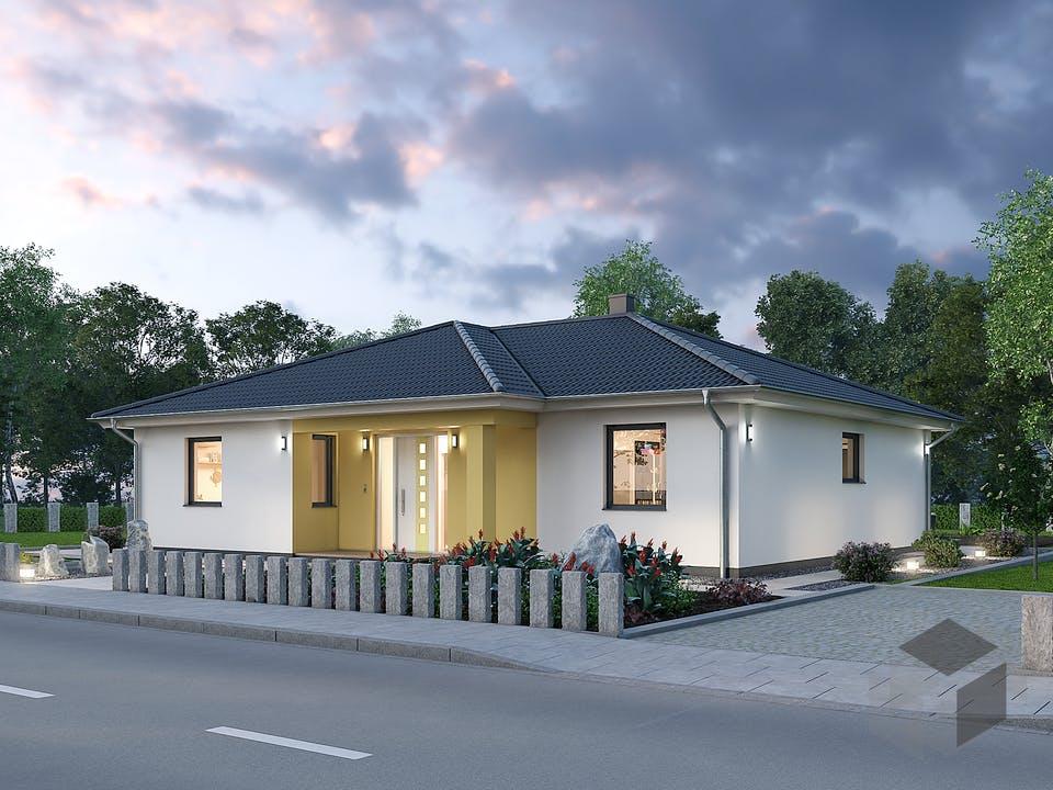 Bungalow BGL 120 von Ytong Bausatzhaus Außenansicht