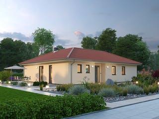 Bungalow BGL 122 von Ytong Bausatzhaus Außenansicht 1