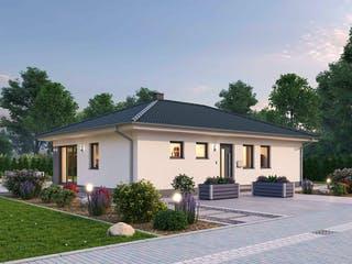 Bungalow BGL 87 von Ytong Bausatzhaus Außenansicht 1