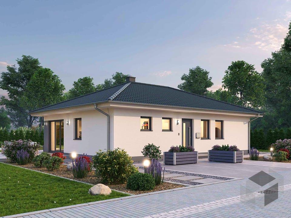 Bungalow BGL 87 von Ytong Bausatzhaus Außenansicht
