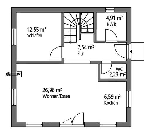 Ytong Bauhaus 122 Floorplan 1